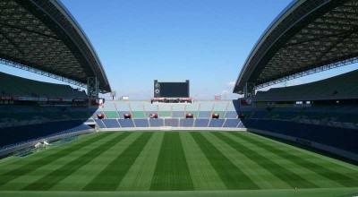 人工芝のサッカー場を作る