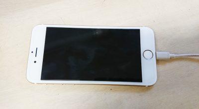iPhoneの画面交換が完了